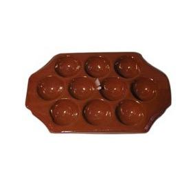Provoletera De Ceramica 10 Cavidades