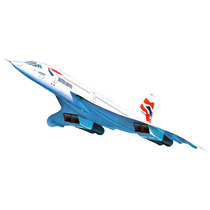 Kit Para Montar Revell Concorde British Airways Escala 1/72