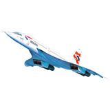 Plastimodelismo Revell Concorde British Airways Escala 1/72
