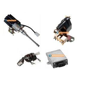 Kit Ignição Eletrônica Ford Jeep Willys Rural F75 Aero 6cc