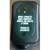 Tester Probador Puesta A Tierra En Instalaciones Eléctricas.