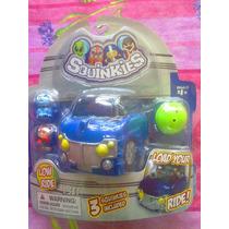 Carro De Homies Con Figuras Squinkies Miniatura