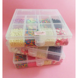 Maletín/set D Decoración De Cupcakes Y Tortas Regalo Navidad