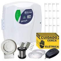 Kit Cerca Elétrica Residencial P/ 90 Metros C/ Setor Alarme