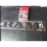 Logo Camioneta Dodge Ram Cromados,accesorios Vehiculos