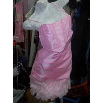 Vestido A La Rodilla Con Escote Cruzado M.