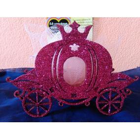 Souvenirs 15 Años Carroza Brillante Fibrofacil X50