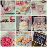 Mesa Dulce Baby Shower, Primer Añito, Cupcakes, Torta Y +