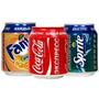 Coca, Sprite, Fanta En Latas 250 Cc