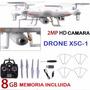 Drone Syma X5c-1, Camara Hd, 8gb Memoria, Bateria,accesorios