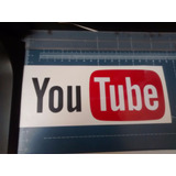 Calco Logo Youtube En Vinilo