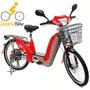 Bicicleta Elétrica Motorizada 350 W 48v Em 12x Sem Juros