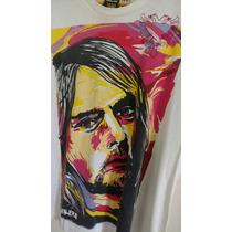 Rara E Única Camisa Cavalera Kurt Cobain Nirvana