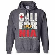 California Con Capucha Gris Talla S