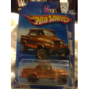 Jeep Scrambler Color Cafe Metalico Hot Wheels Lyly Toys
