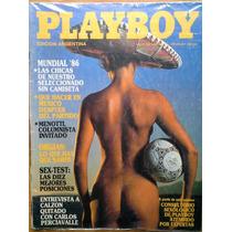 Revista Playboy Edicion Argentina May 86 Espcial Mundial 86
