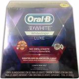 Tiras Blanqueadoras De Dientes Oral B 3d White Luxe