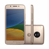 Celular Motorola Xt1672 Moto G5 Ouro Tela 5
