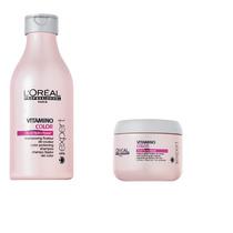 Loreal Vitamino Color Mascarilla Shampoo Combo