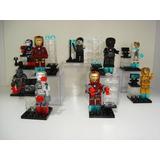 Kit Festas Homem De Ferrro Iron Man Tony Stark 9 Bonecos