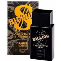 Perfume Billion Casino Royal Paris Elysees - Nina Presentes
