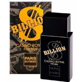 Perfume Billion Casino Royal Paris Elysees - Silver Scent