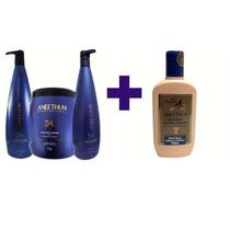 Aneethun Linha A Shampoo + Condicionador + Máscara + Creme