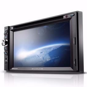 Som 2 Din Evolve Gps/tv Digital/tela 6.2\ /usb/sd/aux E Bt
