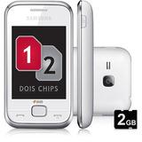 Samsung C3312 Corby Duos Novo Nacional!nf+fone+cabo+garant