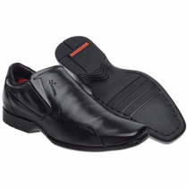 Sapato Social Anti Estresse Masculino Confortável Leve Macio