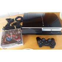 Playstation 3 Fat 80gb Mod Cech-l01 Aceita Desbloqueio Total