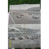 Antigua Lámina Central Mundo Deportivo Carrera Autos