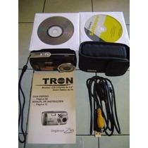 Rc686 - Câmera Digital Digitron Z6s Perfeita E Linda