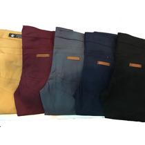 Pantalon Chupin Gabardina Elastizada