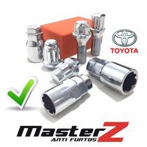Kit Porcas Antifurto Roda Masterz (4x1) Toyota Hilux Sw4