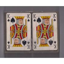 Paquete Naipes Con 40 Naipes De Poker De Cartón