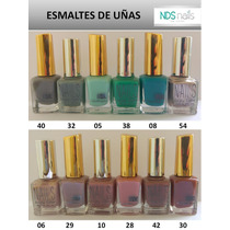 6 Esmaltes O Pinturas De Uñas B.o. Y Nails Enjoy Color
