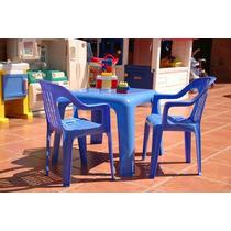 Mesa Para Niños Colombraro + 2 Sillitas Oferta
