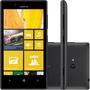 Nokia Lumia 720 Preto 8gb Wifi Gps Dualcore 6.7mp   Vitrine