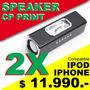 2 Parlante Con Base Para Ipod Y Iphone + Oferta Navidad +