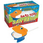 Sapo Toto Burbujero San Remo Lanza Espuma -exito Tv Original