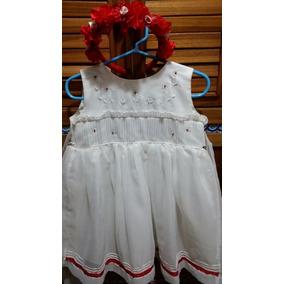 Vestido Para Fiesta O Bautizo Para Niña O Bebe De 1 A 2 Años