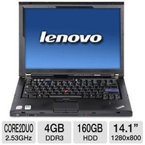 Notebook Intel 2.4ghz 4gb 160gb Lenovo Original Wifi