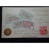 Antigua Postal Francesa Con Relieve De Monedas Y Billetes