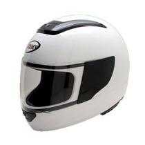 Casco Suomy Booster Marca Italiana Color Blanco