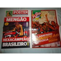 Posters Flamengo Campeão Brasileiro 2009 E Carioca 2007/2008