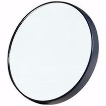 Espelho De Aumento 10x Com Ventosa Maquiagem Limpeza De Pele