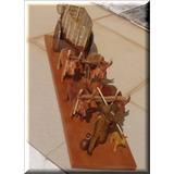 Carro De Boi-artesanato Em Madeira-hotel Fazenda