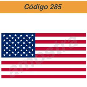 Adesivo Vinil Bandeira Usa - Frete Único R$ 6,00