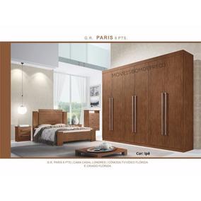 Dormitório Casal 6 Portas Paris D Doro Móveis